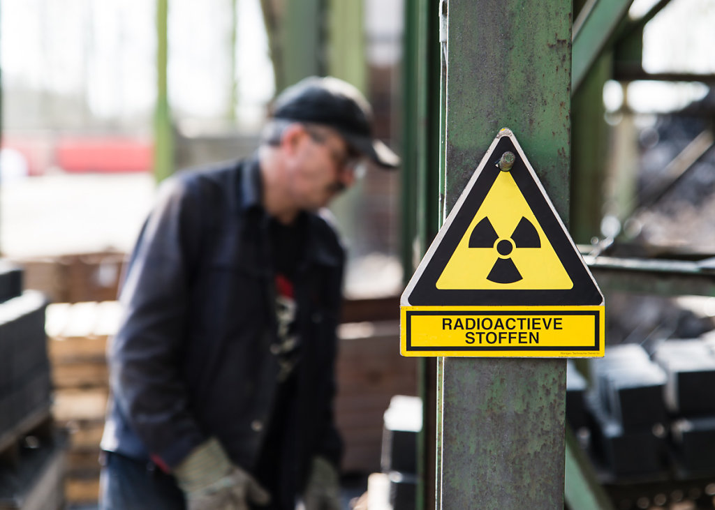 Working with radioactive materials