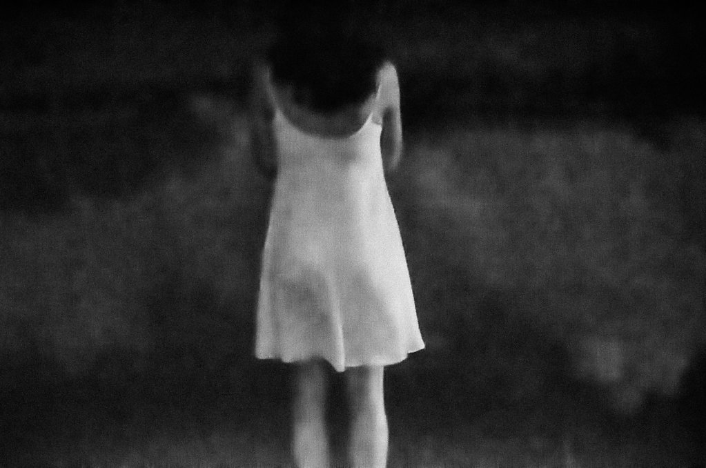Nika at night